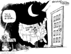 Cartoonist Mike Luckovich  Mike Luckovich's Editorial Cartoons 2008-10-21 2008 election