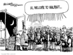 Cartoonist Mike Luckovich  Mike Luckovich's Editorial Cartoons 2008-11-21 retirement
