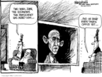 Cartoonist Mike Luckovich  Mike Luckovich's Editorial Cartoons 2008-11-21 Iraq