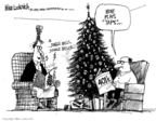 Cartoonist Mike Luckovich  Mike Luckovich's Editorial Cartoons 2008-12-04 financial loss