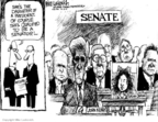 Cartoonist Mike Luckovich  Mike Luckovich's Editorial Cartoons 2008-12-19 John McCain