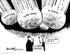 Cartoonist Mike Luckovich  Mike Luckovich's Editorial Cartoons 2009-01-02 international crisis