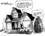 Cartoonist Mike Luckovich  Mike Luckovich's Editorial Cartoons 2009-02-15 home
