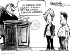 Cartoonist Mike Luckovich  Mike Luckovich's Editorial Cartoons 2009-06-24 marriage