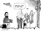 Cartoonist Mike Luckovich  Mike Luckovich's Editorial Cartoons 2009-06-30 Billy