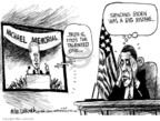 Cartoonist Mike Luckovich  Mike Luckovich's Editorial Cartoons 2009-07-08 truth