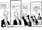 Cartoonist Mike Luckovich  Mike Luckovich's Editorial Cartoons 2009-08-05 diplomat