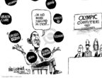 Cartoonist Mike Luckovich  Mike Luckovich's Editorial Cartoons 2009-09-30 Iran