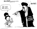Cartoonist Mike Luckovich  Mike Luckovich's Editorial Cartoons 2009-12-29 Iran