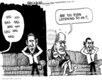 Cartoonist Mike Luckovich  Mike Luckovich's Editorial Cartoons 2010-01-06 war on terror