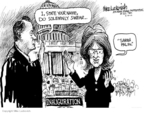 Cartoonist Mike Luckovich  Mike Luckovich's Editorial Cartoons 2010-02-10 Sarah Palin