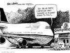Cartoonist Mike Luckovich  Mike Luckovich's Editorial Cartoons 2010-03-05 air travel