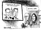 Cartoonist Mike Luckovich  Mike Luckovich's Editorial Cartoons 2010-05-14 labor