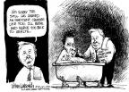Cartoonist Mike Luckovich  Mike Luckovich's Editorial Cartoons 2010-06-18 petroleum