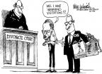 Cartoonist Mike Luckovich  Mike Luckovich's Editorial Cartoons 2010-07-01 retirement