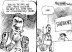 Cartoonist Mike Luckovich  Mike Luckovich's Editorial Cartoons 2010-07-09 basketball