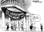 Cartoonist Mike Luckovich  Mike Luckovich's Editorial Cartoons 2011-01-20 retirement