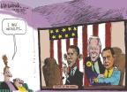 Cartoonist Mike Luckovich  Mike Luckovich's Editorial Cartoons 2011-01-23 union