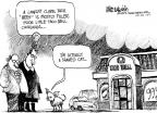 Cartoonist Mike Luckovich  Mike Luckovich's Editorial Cartoons 2011-01-27 dog