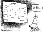 Cartoonist Mike Luckovich  Mike Luckovich's Editorial Cartoons 2011-03-25 basketball