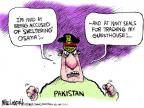 Cartoonist Mike Luckovich  Mike Luckovich's Editorial Cartoons 2011-05-04 war on terror