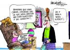 Cartoonist Mike Luckovich  Mike Luckovich's Editorial Cartoons 2011-05-05 war on terror