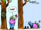 Cartoonist Mike Luckovich  Mike Luckovich's Editorial Cartoons 2011-05-12 Ryan Medicare plan