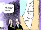 Cartoonist Mike Luckovich  Mike Luckovich's Editorial Cartoons 2011-05-24 peace