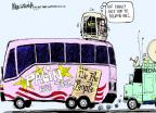 Cartoonist Mike Luckovich  Mike Luckovich's Editorial Cartoons 2011-06-02 Sarah Palin