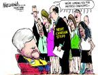 Cartoonist Mike Luckovich  Mike Luckovich's Editorial Cartoons 2011-06-10 marriage