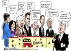 Cartoonist Mike Luckovich  Mike Luckovich's Editorial Cartoons 2011-06-15 debate