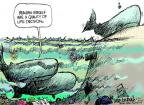 Cartoonist Mike Luckovich  Mike Luckovich's Editorial Cartoons 2011-06-26 science