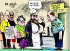 Cartoonist Mike Luckovich  Mike Luckovich's Editorial Cartoons 2011-07-10 transportation