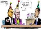 Cartoonist Mike Luckovich  Mike Luckovich's Editorial Cartoons 2011-08-04 birthday