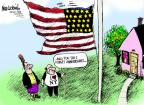 Cartoonist Mike Luckovich  Mike Luckovich's Editorial Cartoons 2011-09-10 honor