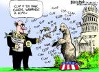 Cartoonist Mike Luckovich  Mike Luckovich's Editorial Cartoons 2011-09-22 climate