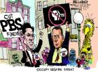 Cartoonist Mike Luckovich  Mike Luckovich's Editorial Cartoons 2011-10-14 circle