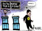 Cartoonist Mike Luckovich  Mike Luckovich's Editorial Cartoons 2011-10-16 debate