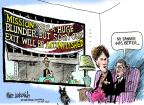 Cartoonist Mike Luckovich  Mike Luckovich's Editorial Cartoons 2011-10-28 Iraq war