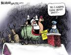 Cartoonist Mike Luckovich  Mike Luckovich's Editorial Cartoons 2011-12-02 anti-immigration