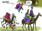 Cartoonist Mike Luckovich  Mike Luckovich's Editorial Cartoons 2011-12-14 stop