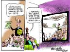 Cartoonist Mike Luckovich  Mike Luckovich's Editorial Cartoons 2012-01-25 union