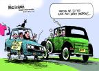 Cartoonist Mike Luckovich  Mike Luckovich's Editorial Cartoons 2012-02-05 presidential pardon