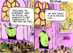 Cartoonist Mike Luckovich  Mike Luckovich's Editorial Cartoons 2012-02-10 religion