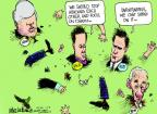Cartoonist Mike Luckovich  Mike Luckovich's Editorial Cartoons 2012-02-21 shake hands
