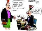 Cartoonist Mike Luckovich  Mike Luckovich's Editorial Cartoons 2012-03-13 Iraq war