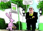 Cartoonist Mike Luckovich  Mike Luckovich's Editorial Cartoons 2012-04-08 golf club