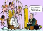 Cartoonist Mike Luckovich  Mike Luckovich's Editorial Cartoons 2012-04-10 labor