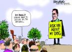 Cartoonist Mike Luckovich  Mike Luckovich's Editorial Cartoons 2012-04-18 dog