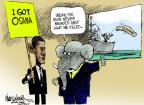 Cartoonist Mike Luckovich  Mike Luckovich's Editorial Cartoons 2012-05-04 George W. Bush